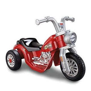 Fisher Price Power Wheels Harley Davidson 6V Battery Powered Motorcycle