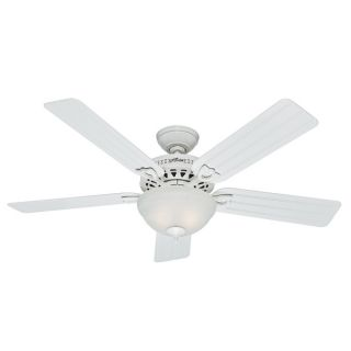 Hunter Fan 52 inch 5 blade Sea Air White Ceiling Fan