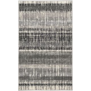 Safavieh Evoke Cream/ Dark Grey Rug (6 Round)