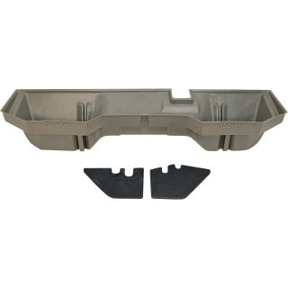 DU-HA Truck Storage System — Dodge Ram 1500 Quad Cab, Fits 2002-2009 Models, Khaki, Model# 30019  Interior Storage