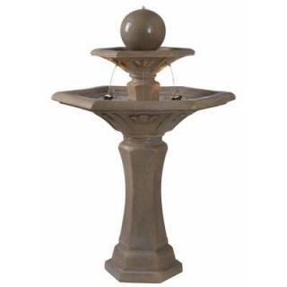 Kenroy Home Provence Lighted Outdoor Fountain 50325DT