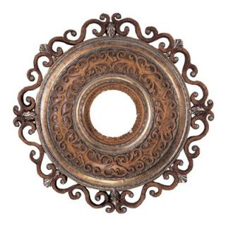 Minka Aire Napoli 22 Ceiling Medallion in Tuscan Patina