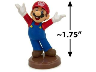 "Mario ~1.75"" Mini Figure [Super Mario Choco Egg Mini Figure Selection Series   N"