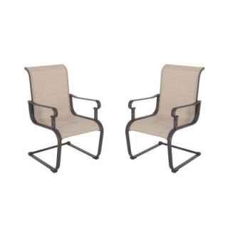 Hampton Bay Belleville Patio Dining Chairs (2 Pack) FCS80198 2PK