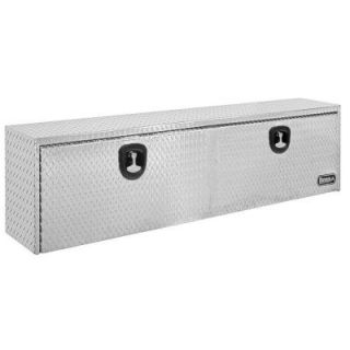 Buyers Products Company 30 in. Aluminum Recessed Door Underbody Tool Box with T Handle Latch 1705133