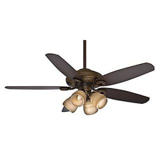 Casablanca Fan 54 Capistrano Gallery 5 Blade Fan; Acadia w/Smoked Walnut/ Dark Walnut Blades