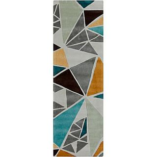 Surya Cosmopolitan COS9199 268 Hand Tufted Rug, 26 x 8 Rectangle