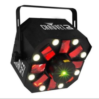 Chauvet DJ SWARM 5 FX RGBAW LED Sound Active Derby, Strobe & Laser Light Effect