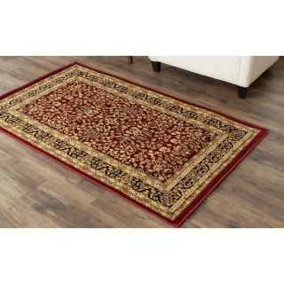 Safavieh Lyndhurst Collection Persian Treasure Red/ Black Rug (33 x 5