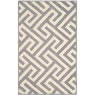 Safavieh Four Seasons Ivory/Grey 3 ft. 6 in. x 5 ft. 6 in. Area Rug FRS241M 4