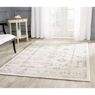 Safavieh Porcello Ivory/ Light Grey Rug (67 x 96)