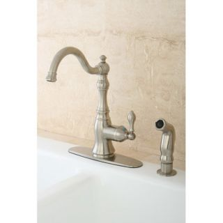 American Classic Satin Nickel Single handle Kitchen Faucet   13084305