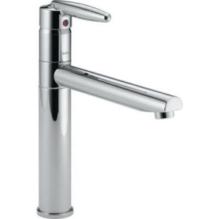 Delta Grail Single Handle Kitchen Faucet in Chrome DISCONTINUED D185LF