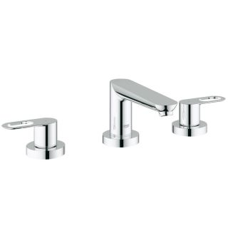 Grohe 19593000 BauLoop Polished Chrome Roman Tub Faucets