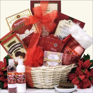 Peace & Tranquility Spa Holiday Christmas Gift Basket