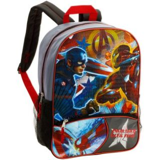 "16"" Marvel Captain America Civil War Full Size Backpack"