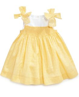 First Impressions Baby Girls Smocked Dress