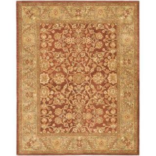 Safavieh Golden Jaipur Rust/Green 6 ft. x 9 ft. Area Rug GJ250E 6