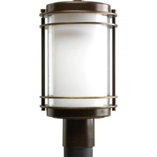 Progress Lighting Penfield Collection Oil Rubbed Bronze 1 light Post Lantern P5472 108