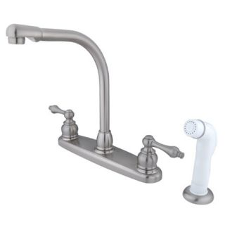 Kingston Brass GKB718AL Satin Nickel Gkb71 al Kitchen Faucet   Build