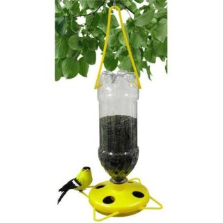 Gadjit Thistle Bird Feeder in Yellow