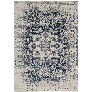 Safavieh Madison Bohemian Cream / Navy Rug (5 x 8)   19461903
