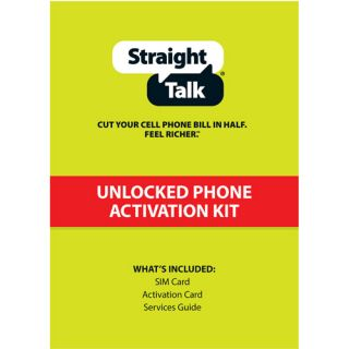 Straight Talk T Mobile Compatible Standard SIM Card