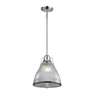 Elk Lighting 172 Halophane 1 Light Pendant