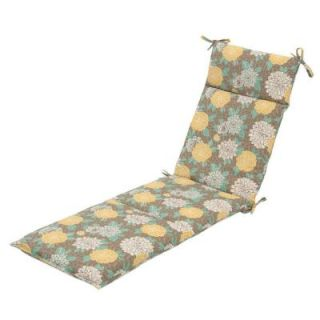 Hampton Bay Petula Outdoor Chaise Lounge Cushion 7407 01239400