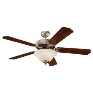 Sea Gull Lighting Quality Max Plus 52 in. Brushed Pewter Ceiling Fan 15030BLE 892