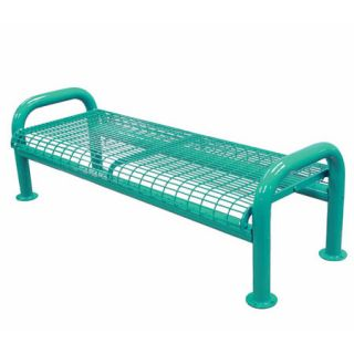 Leg Metal Bench without Back by Leisure Craft