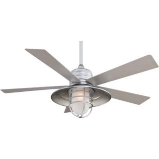 Minka Aire MAI F582 GL Rainman Galvanized  Ceiling Fans Lighting
