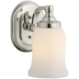 Kohler K 11421 SN Bancroft Vibrant Polished Nickel  Wall Sconces Lighting
