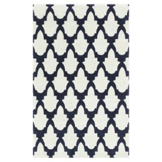 Surya Cosmopolitan Bone/Midnight Blue Rug