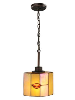 Dale Tiffany TH12447 Rustic Bronze Pendant Light