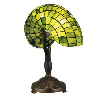 Radionic Hi Tech Tentelle 21.00 in. Bronze Hand Rolled Art Glass Table Lamp DT_TL_TT13116_RHT
