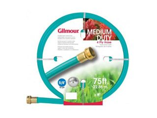 "Gilmour 15 58075 5/8"" x 75'  4 Ply Medium Duty Garden Hose"