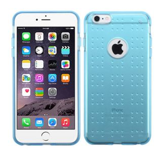 INSTEN Plain TPU Rubber Candy Skin Phone Case Cover For Apple iPhone 6
