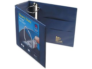 "Avery 79804 Nonstick Heavy Duty EZD Reference View Binder, 4"" Capacity, Navy Blue"