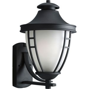 Progress Lighting P5780 31 Fairview Textured Black  Outdoor Sconce Lighting