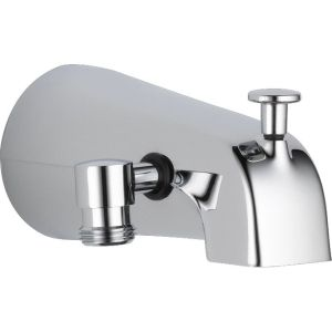 Delta Faucet U1072 PK Universal Polished Chrome  Tub Spouts Tub & Shower Accessories