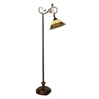 Dale Tiffany Crystal Jewel 60 Task Floor Lamp