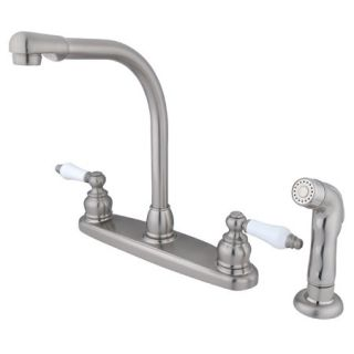 Kingston Brass GKB718SP Satin Nickel Gkb71 sp Kitchen Faucet   Build