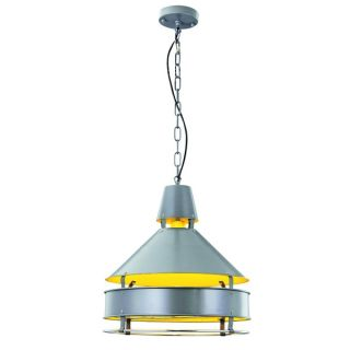 Elegant Lighting Industrial Collection Pendant lamp with Grey Finish
