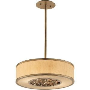 Troy Lighting TRY F3155 Serengeti Bronze Leaf  Pendants Lighting