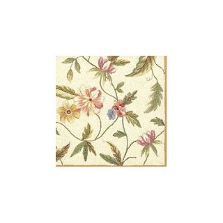 KAS Rugs Colonial Ivory Floral Area Rug
