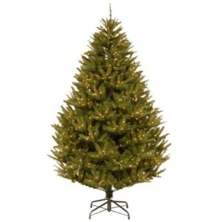 National Tree Company 7.5 ft. California Cedar Artificial Christmas Tree with Clear Lights PECF10 307 75