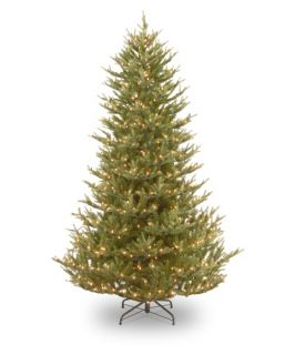 ft. Balsam Fir Medium Hinged Pre Lit Christmas Tree   Christmas