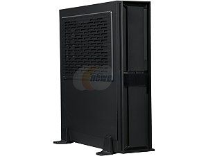SilverStone Milo Series ML08B Black Reinforced plastic outer shell, steel body Mini ITX Computer Case Compatible with SFX & SFX L Power Supply