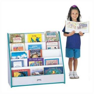 Jonti Craft Rainbow Accents Pick a Book Stand with 1 Sided Flush Back